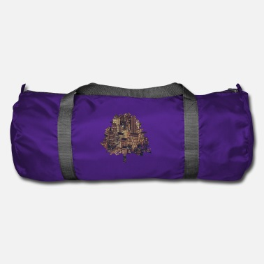 Enviromental Big City Nature T-Shirt Gift - Duffle Bag