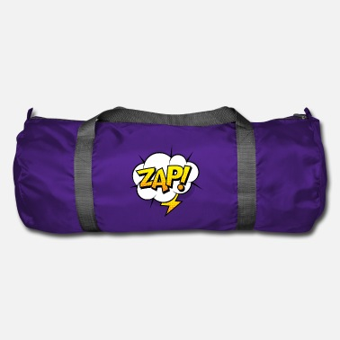 Comic Comic Comic Comic Strip Superhero Flash - Sac de sport