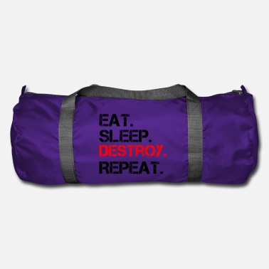Shop Destroy Duffel Bags online | Spreadshirt