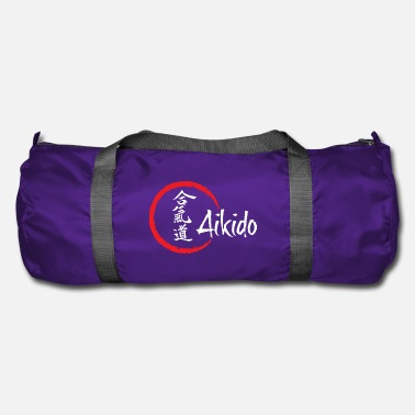 Aikido Aikido for dark background - Duffel Bag