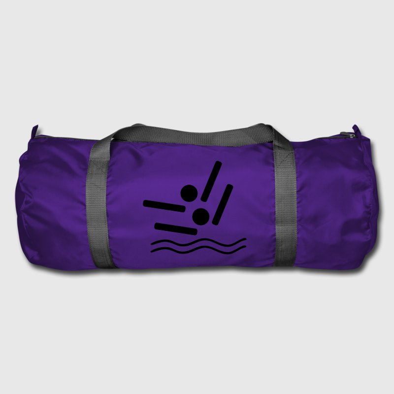 synchronised swimming - Duffel Bag