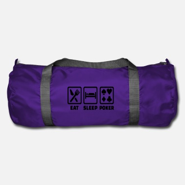 Holdem Eat Sleep Poker Funny Poison Texas Holdem - Duffle Bag