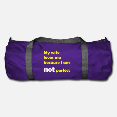 Égo becauseiamnotperfect - Sac de sport