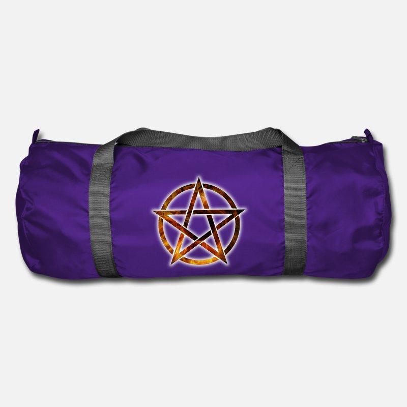 8c04e7fc70d Shop Pentagram Duffel bags online | Spreadshirt