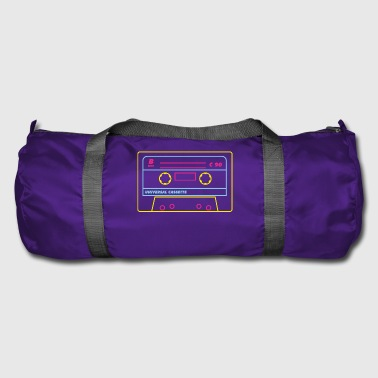 Cassette Audio 80s / Neon - Duffel Bag
