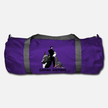 Sports Dog sports, shepherd, obedience, dog head, dog - Duffle Bag