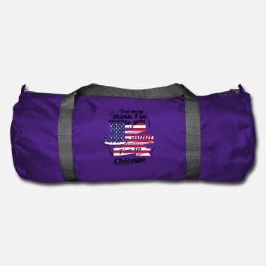 THERAPY HOLIDAY AMERICA USA TRAVEL Chicago - Duffle Bag