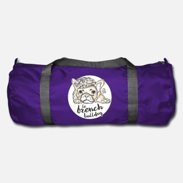 French &amp French Bulldog - Duffle Bag
