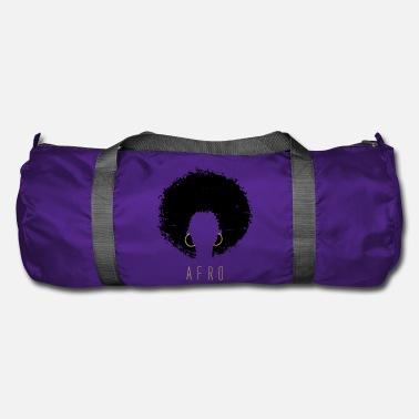 Natural-hair Black Afro American Latina Natural Hair - Duffle Bag a7eb15c6dd724