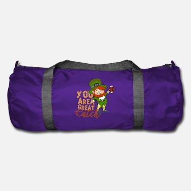 Sports St. Patrick's Day American Football Sports Gift - Duffle Bag