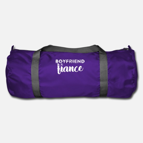 Fiance Bags & Backpacks - Not boyfriend fiance - Duffle Bag purple