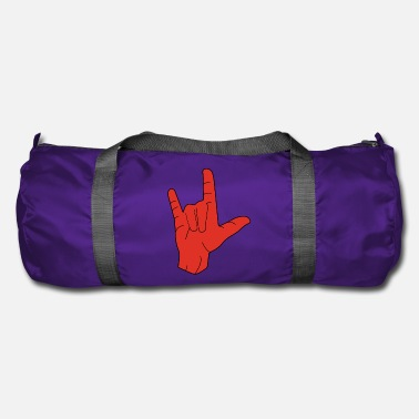 British Hand sign sign language love - Duffel Bag