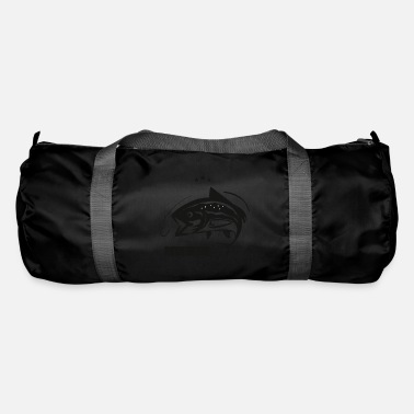 Sport Fishermen Fish in the water // for passionate fishermen - Duffle Bag