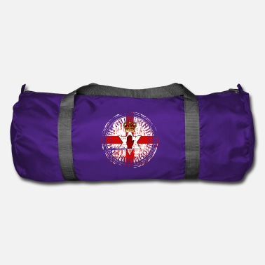Northern Ireland Northern Ireland Emblem Retro - Duffel Bag