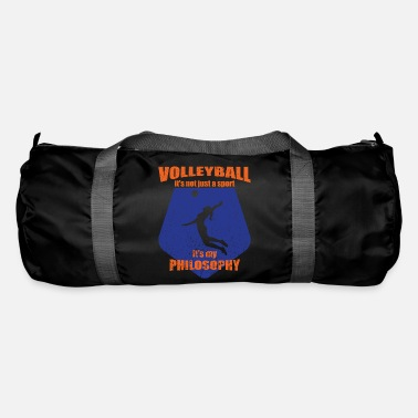 Attitude To Life Volleyball Sport Life Attitude - Duffle Bag