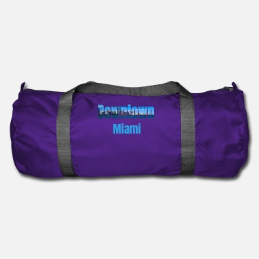 Tourist Downtown Miami, Verenigde Staten, Country Tourist Gifts - Sporttas