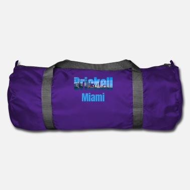 Tourist Brickell Miami, Verenigde Staten, Country Tourist Gifts - Sporttas