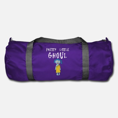 Dolcetto O Scherzetto Pretty Little Ghoul Divertente Halloween Zombie Girl Design - Borsa sportiva