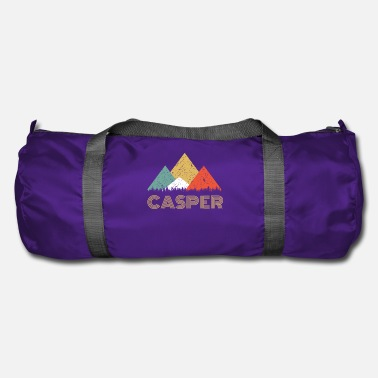 Città Retro City of Casper Mountain Shirt - Borsa sportiva