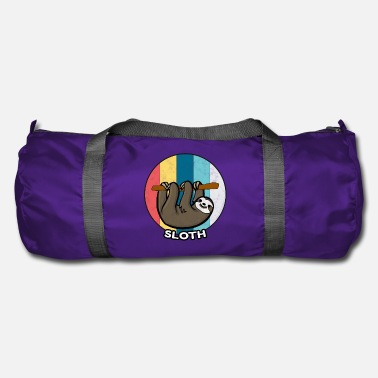 Relax Sloth Vintage Lazy Chilling Sleeping Gift - Sac de sport