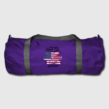 Corona THERAPY HOLIDAY AMERICA USA TRAVEL Corona - Duffel Bag