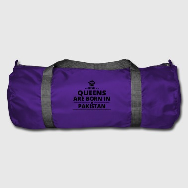 geschenk love queens are born PAKISTAN - Sporttasche