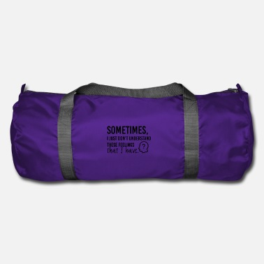 Sentiment ces sentiments - Sac de sport