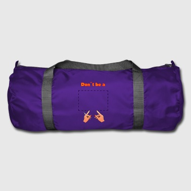 Don't be a square! Pulp Fiction - movie quote - Duffel Bag