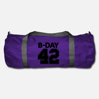 Jersey Number Number 42 / 42nd birthday number jersey number - Duffel Bag