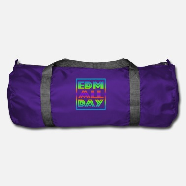 Dubstep Edm Rave Rainbow EDM All Day Gift - Borsa sportiva
