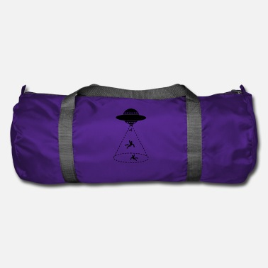 Scifi UFO Abduction Flying Men Gift - Duffle Bag