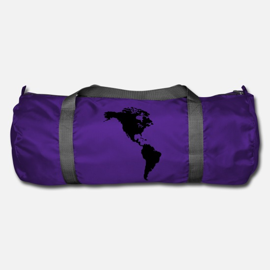 Latin America Bags & Backpacks - America - Duffle Bag purple