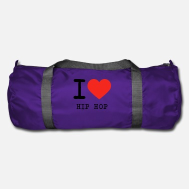Hip Hop I love Hip Hop - Duffle Bag