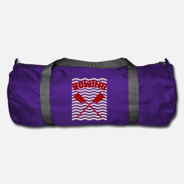 Rowing oarsman rowing rowing - Duffel Bag