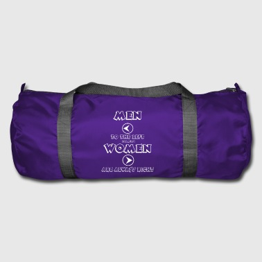Womens-rights WOMEN ARE RIGHT - Duffel Bag
