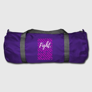 Awareness-ribbon fight cancer ribbon together cancer awareness awar - Duffel Bag