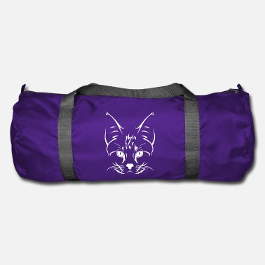 Subtle Subtle cat's face - Duffel Bag
