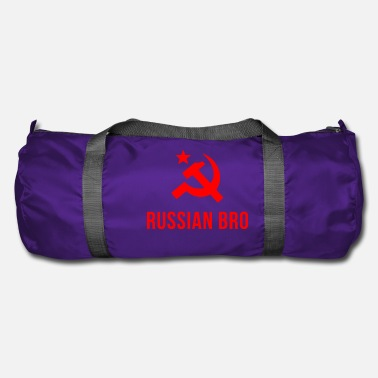 Russian russian bro russian brother - Duffle Bag