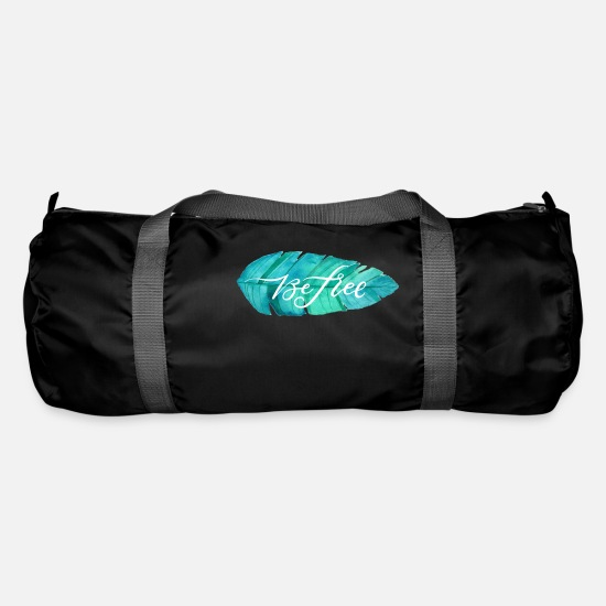 Birthday Bags & Backpacks - Be Free, Be Free - Duffle Bag black