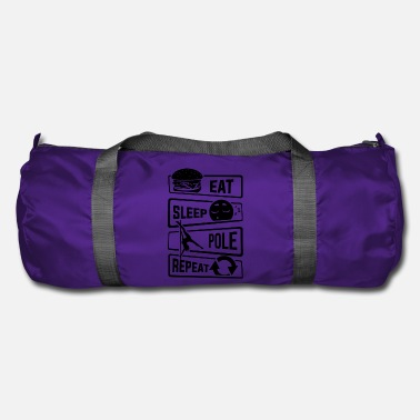 Eat Sleep Pole Dance Repeat - Dance Pole Dance - Duffel Bag
