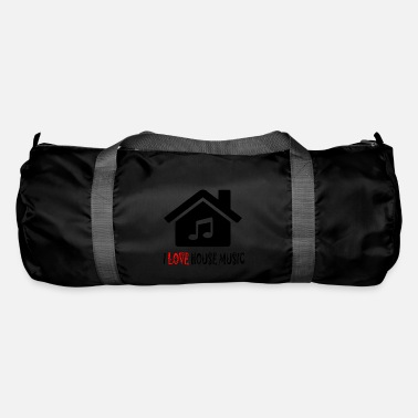 House House Music House Party Shirt - Duffle Bag