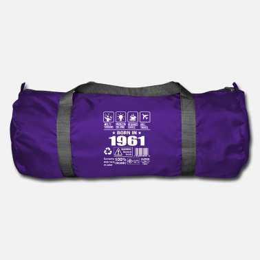 1961 Born In 1961 - Duffel Bag