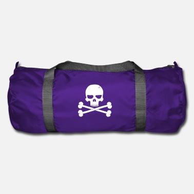Skull And Crossbones Crossbones Skull - Duffel Bag