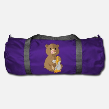 Nimble Cute cartoon bear - Duffel Bag