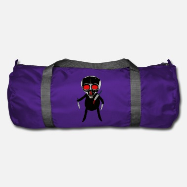 Devil Male Alien Monster Psycho Creature Horror Halloween Dark - Duffle Bag