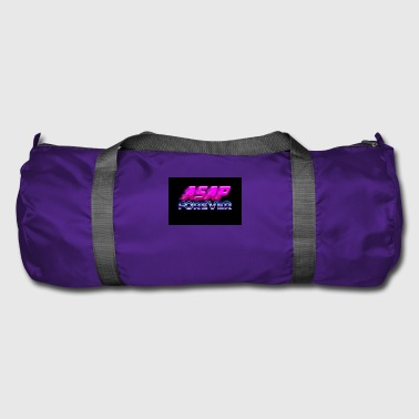 Asap Rocky Asap forever 80s sign - Duffel Bag
