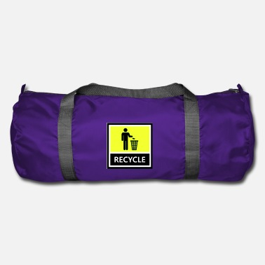 Recycling Recycle - Duffle Bag