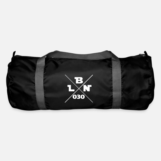 National Team Bags & Backpacks - bln 030 Berlin 030 - Duffle Bag black