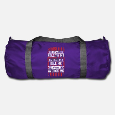 Patriot Veterans, patriotic soldiers + proud Americans! - Duffle Bag