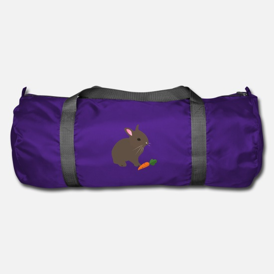 Cherry Tree Bags & Backpacks - Rabbit - Duffle Bag purple